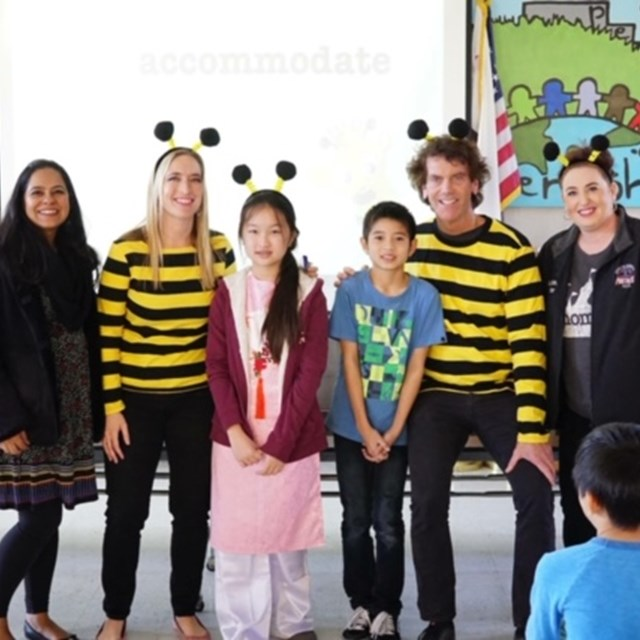 Congrats to Jessica Truong our 2019 spelling bee champion and Ashton Bui our runner up!